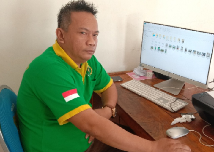 Herlin Koisasi,SH Ketua PWI Muba
